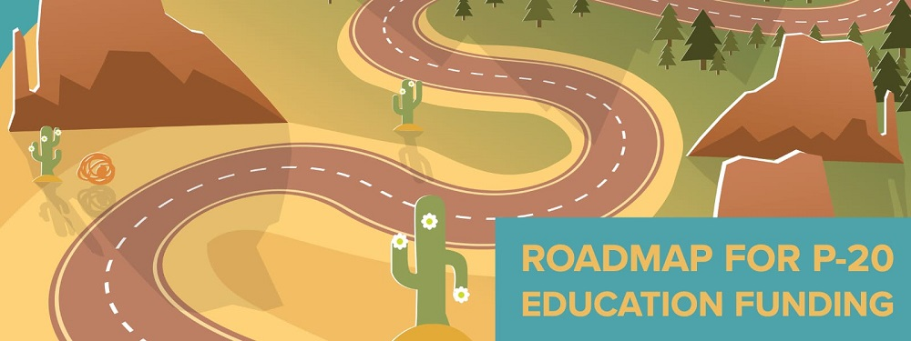 A Portion Of Expect More Arizona's P-20 Roadmap For Education Funding Infographic. Courtesy Expect More Arizona