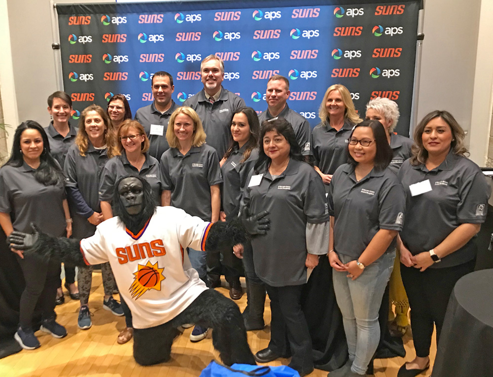 Projects Designed By These K-12 Teachers Throughout Arizona Are Funded By The APS And Phoenix Suns STEM Mini-grant Program. Photo Courtesy APS And Phoenix Suns