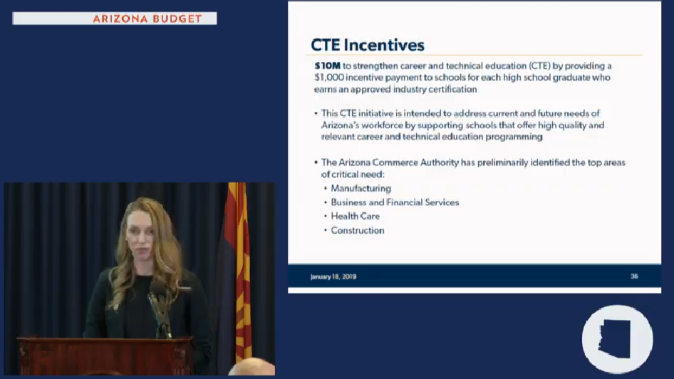 Gov's budget details: More funds for school repairs, counselors, career education Sarah-CTE-Incentives