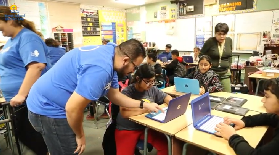 Students At Carver Elementary Had An Amazing Opportunity To Learn The Basics Of Coding From Intel Employees. Yuma Elementary School District No. 1