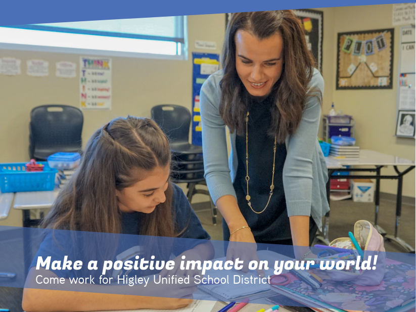 Higley Unified School District To Host Job Fair