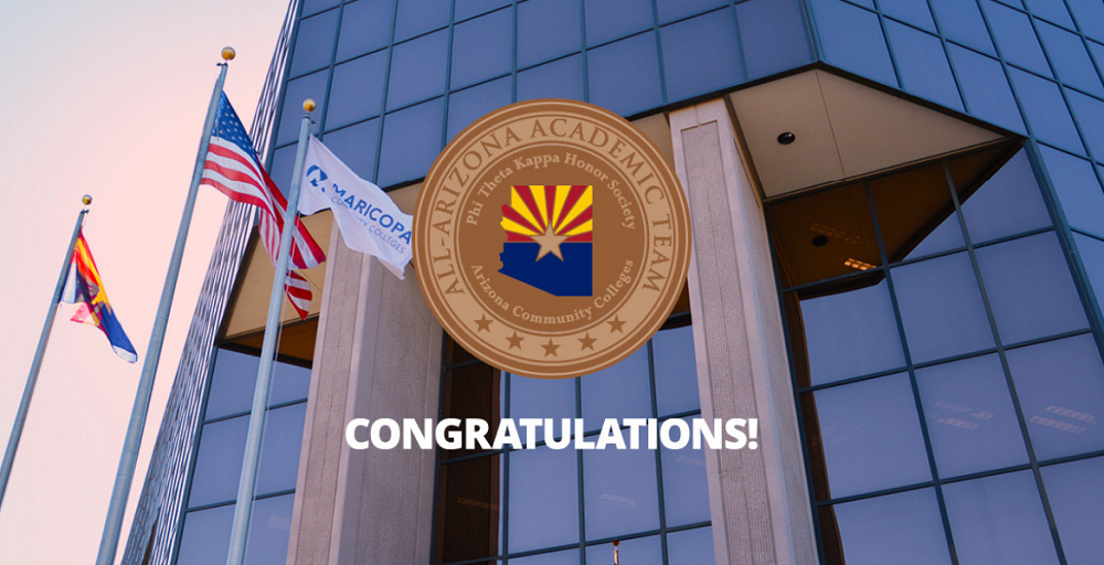 Twenty-six Of Arizona's Highest Achieving Maricopa County Community College District (MCCCD) Students Will Be Honored At A Special 2019 All-Arizona Academic Recognition Ceremony On February 27, 2019, At The East Valley Institute Of Technology. Photo Courtesy Maricopa County Community College District