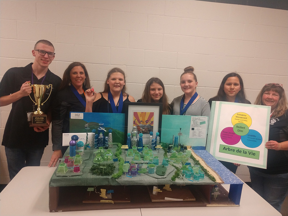 Twenty One Schools Competed In The Arizona Regional Future City Competition. For The Second Year In A Row, Maricopa Unified School District Schools Walked Away With First And Second Place As Well As Nearly Half Of The Total Awards, Winning 17 Of The 38 Awards At The Competition. Photo Courtesy Maricopa Unified School District