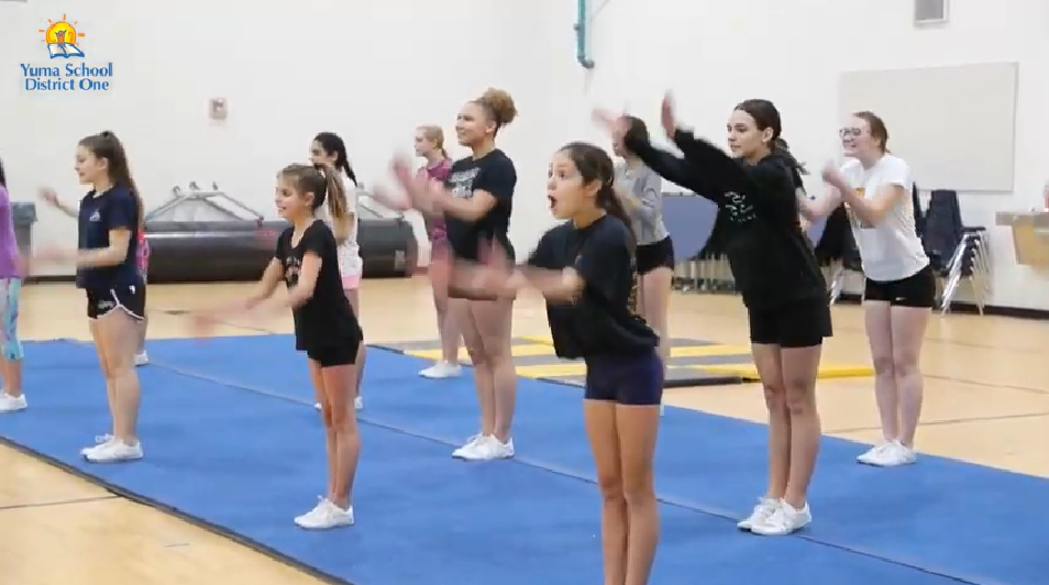 Yuma School's Cheer Team Goes To Nationals
