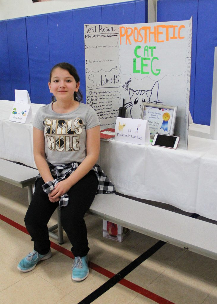 Santa Cruz Valley Unified hosts STEAM and Wellness Night 6_Prosthetic-Cat-Leg_3332-731x1024