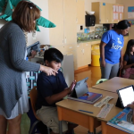 Connecting learning to real world makes Tartesso an A+ School Pendergast-Elementary-Teachers-and-students-in-classroom-2-150x150