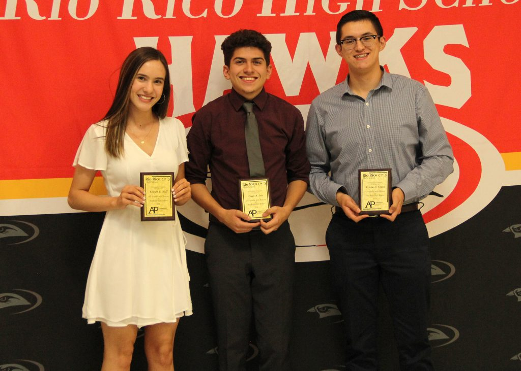 Rio Rico High School AP and Cambridge Students Honored for Academic Achievements AP-honors-1024x731