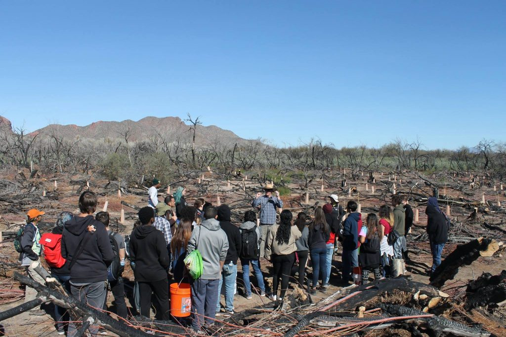 Audubon Arizona's River Pathways introduces students to conservation careers thanks to APS grant Audubon-Group-1024x683