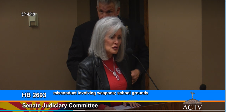 Bills could make vaping at school illegal, loaded guns in cars on campus legal Kelly-Ireland-Moms-Demand-Action