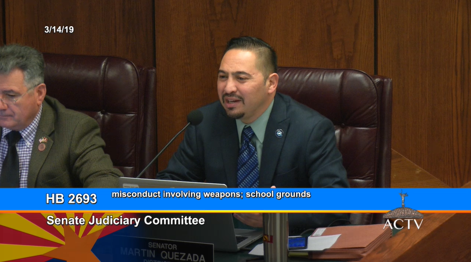 Bills could make vaping at school illegal, loaded guns in cars on campus legal Sen-Quezada