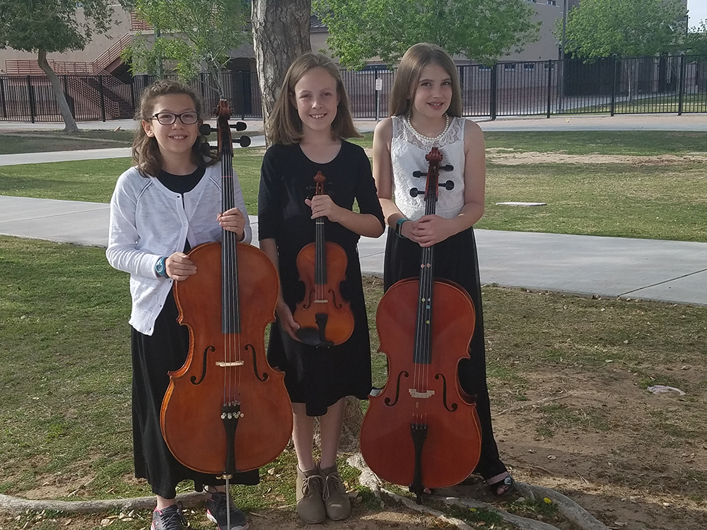 Three Tucson Students Participate In Elementary All-State Orchestra