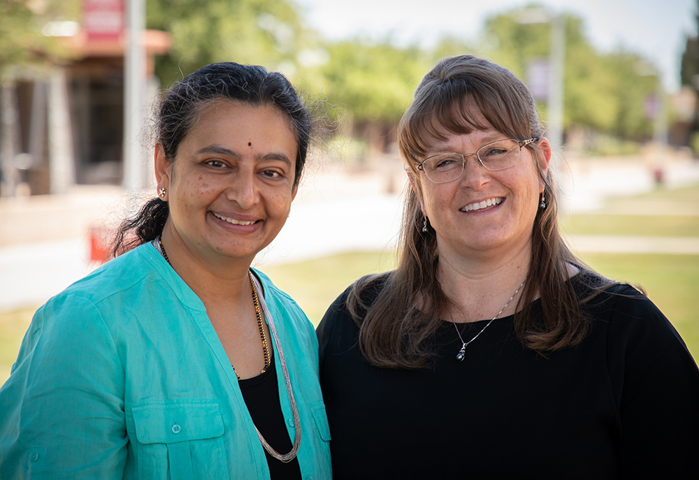 Dr. Annapurna Ganesh, Left, And Julie Garner, Right, Help Make Sure That Both Preschool Teachers And K-12 Public Educators Are Expected To Demonstrate They Are Up-to-date In The Field Through Ongoing Professional Development. Photo Courtesy Of Mesa Community College