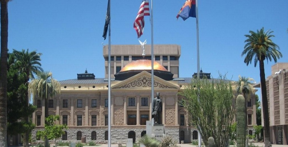 AZ Legislature approves budget & adjourns, Gov. signs bills ArizonaLegislatureCapitol-Plaza