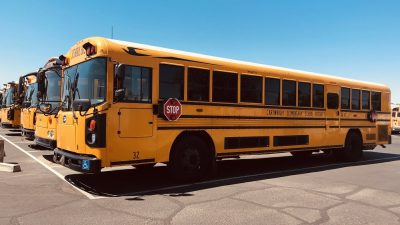 In Georgia, a Surprise School-Recess Fight Cartwright-School-Buses-HP-400x225