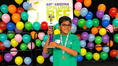 In Georgia, a Surprise School-Recess Fight Omkar-Bharath-AEF-2019-Spelling-Bee-winner-400x225