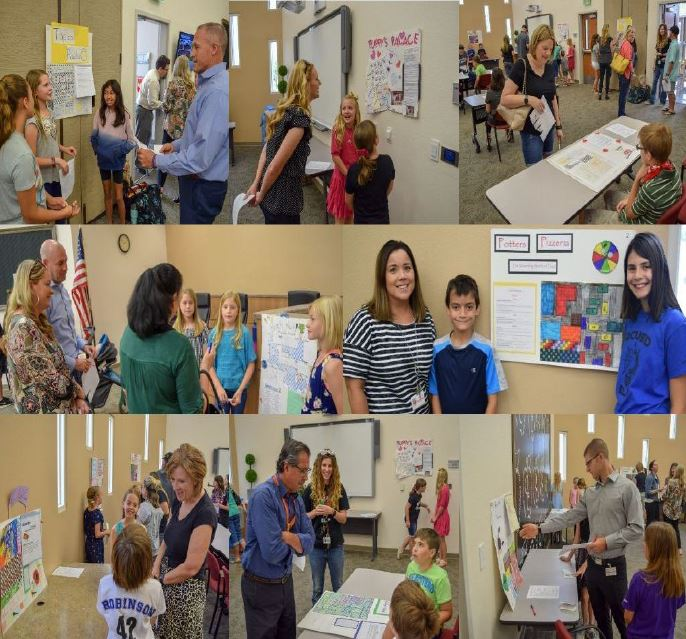 On May 16, All Fifth Grade ELP Gifted Students Presented Their Capstone Projects To A Panel Of Judges, Including Queen Creek Unified School District Leaders, Board Members And Parents. Photo Courtesy Queen Creek Unified School District