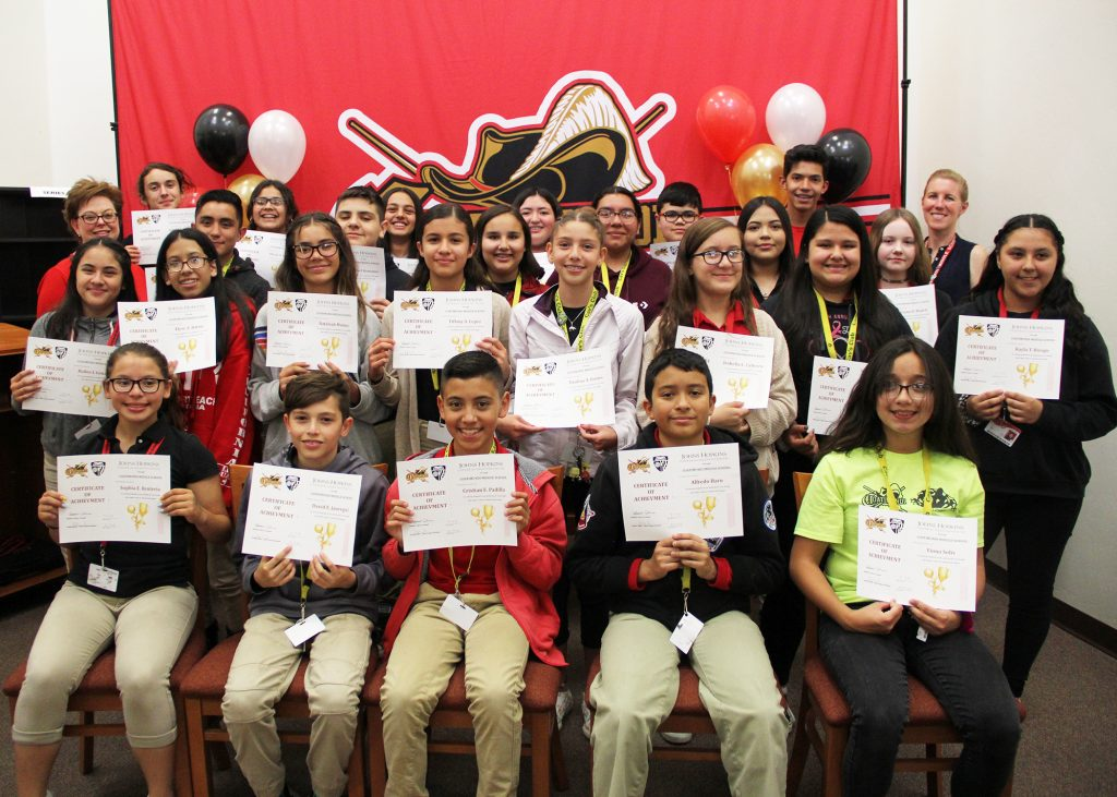 Santa Cruz Valley Unified middle school students qualify for Johns Hopkins summer program 2_CtMS_Group_4248-1024x731