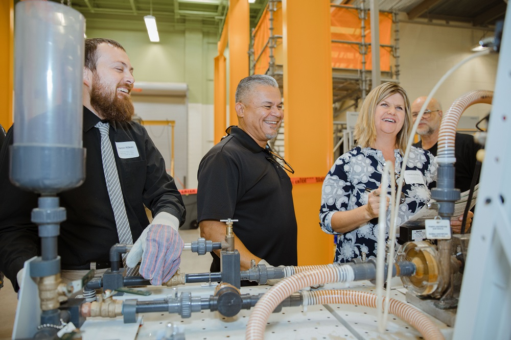Teachers Take Part In Hands On STEM Education At APS- Palo Verde's Teacher Education Day In 2019. Photo Courtesy Of Maya James/Office Of The Maricopa County School Superintendent
