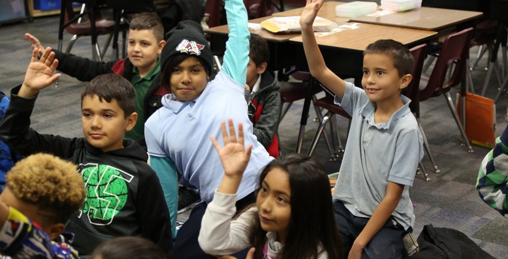 Students At Tolleson Elementary School District During Class. Photo By Brooke Martinez/AZEdNews