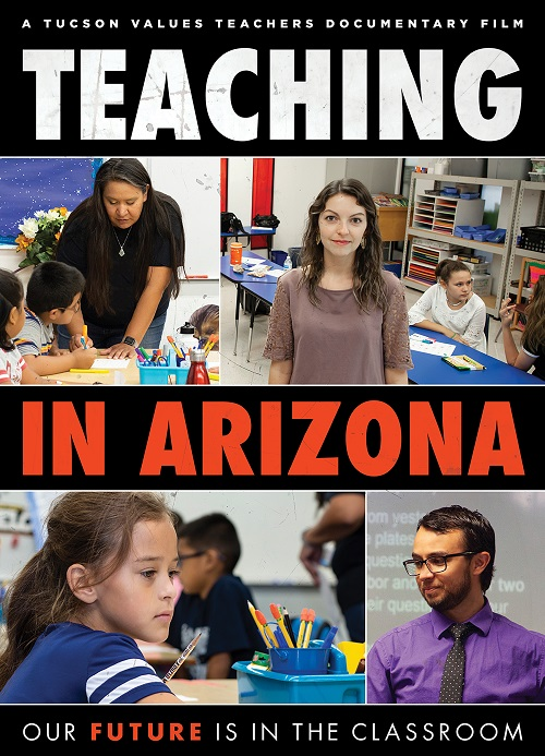 Film: Challenges of raising a family on a teacher's salary continue TEACHING-IN-ARIZONA-Film-Poster-FINAL-500