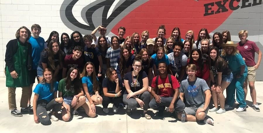 Williams Field High School's Student Council Earned The National Gold Council Of Excellence Honor This Year From The National Student Council Organization. Photo Courtesy Williams Field High School