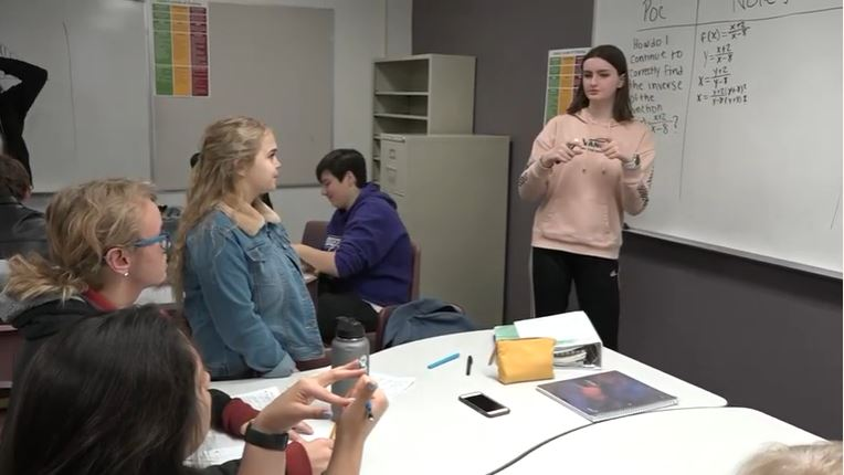 In Queen Creek Unified School District (QCUSD), Students Are Benefiting From Increased Teacher Training And Support. It's Part Of A AVID's National Program Aimed At Closing The Achievement Gap And Creating A College-going Culture In Schools. Photo Courtesy Of Queen Creek Unified School District