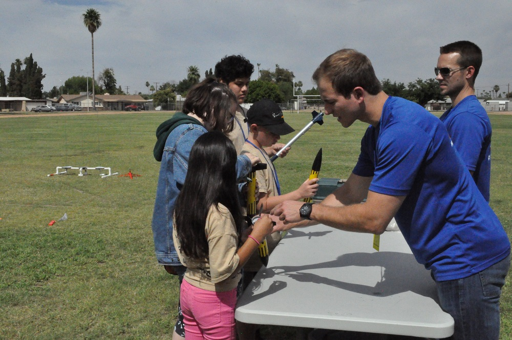 School's not out for teachers leading student activities Aerospace-Academy-Preparing-Rockets