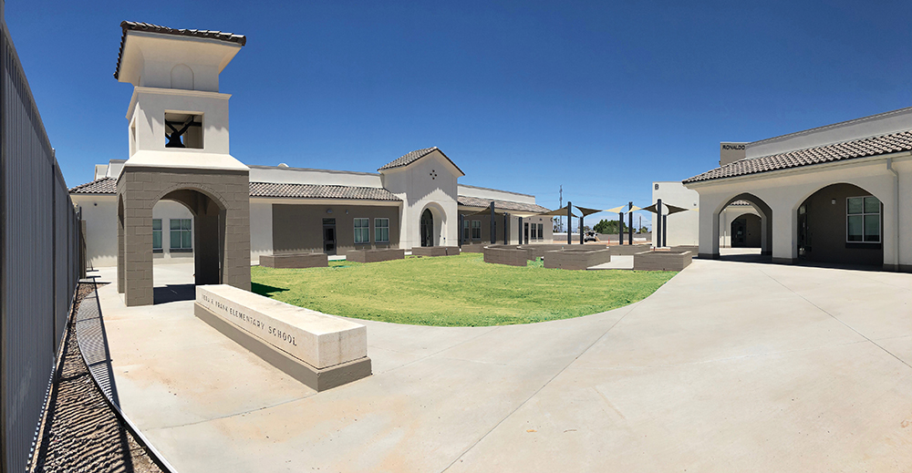 Frank Elementary School Will Open Its Doors To A New Building This School Year. Construction Is Set To Be Complete By The End Of The Month. Photo Courtesy Tempe Elementary School District