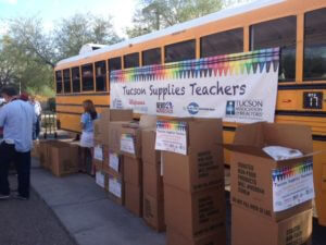 Black Families Haven't Been Hoodwinked, We Come From a Legacy of School Choice Tucson-Values-Teachers-Supply-Drive-photo-300x225