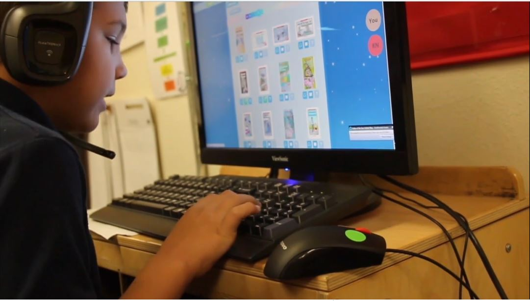 Through Vello, An Innovative Online Tutoring Program, Students And Volunteer Tutors Connect And Read Books From A Virtual Library. Photo Courtesy Valley Of The Sun United Way