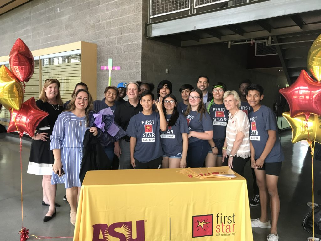 ASU First Star Academy's Focus Is To Provide Education And Long-term Support For Arizona's Foster Youth Throughout Middle And High School While Preparing Them For A Smooth Transition To Higher Education. Photo Courtesy ASU First Star Academy