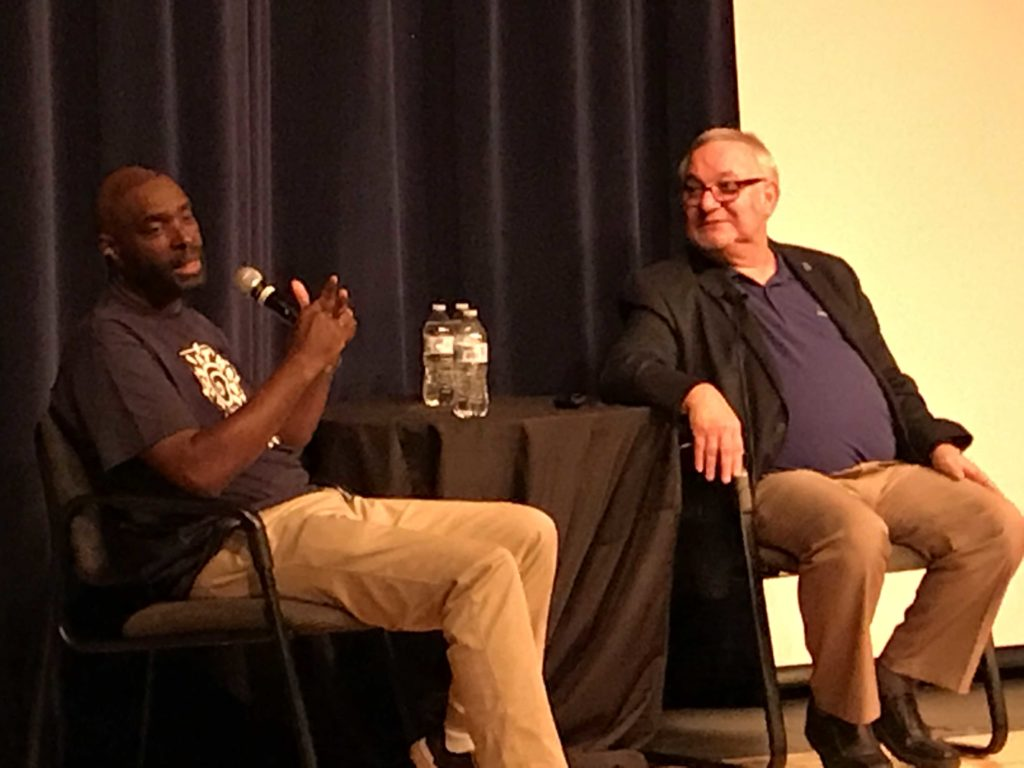 Saddle Mountain students learn hopefulness from Antwone Fisher IMG_5520-1024x768
