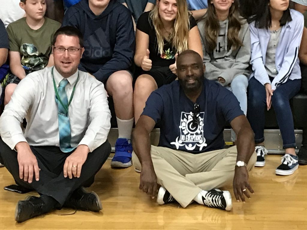Saddle Mountain students learn hopefulness from Antwone Fisher IMG_5525-1024x768