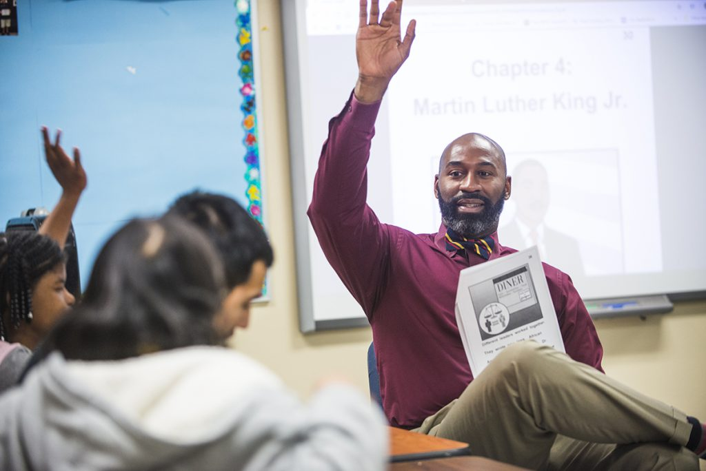 Arizona Educational Foundation's 2019 Teacher Of The Year Kareem Neal Is Pursuing National Board Certification. Photo Courtesy Of Arizona K12Center