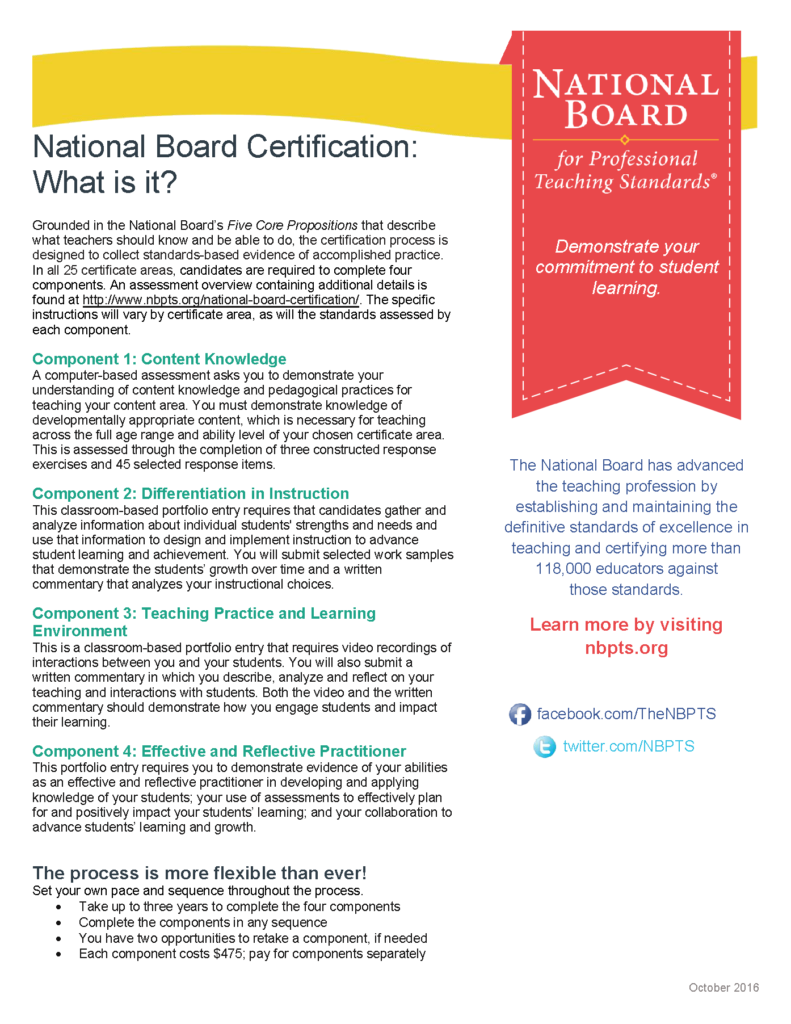 Arizona K12 Center offers funding for 200 teachers seeking National Board Certification National-Board_what-is-it-791x1024