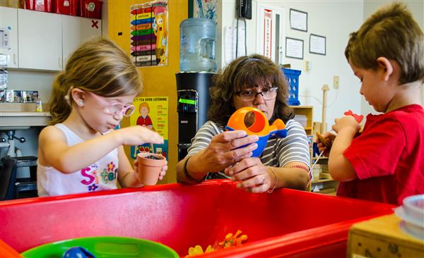 Peoria Unified's Community Preschool Program Serves The Community's Youngest Learners. Photo Courtesy Peoria Unified School District
