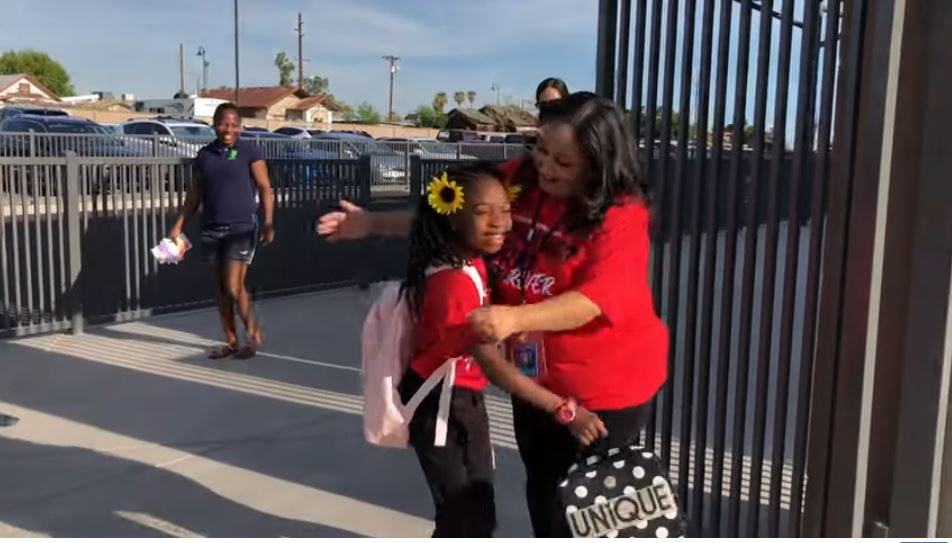 Tempe Elementary School Districts Welcomed Students Back With Activities, Learning Opportunities, The Chance To Make New Friends And A First Day Focused On Kindness - The District's Theme For The Year. Photo Courtesy Tempe Elementary School District