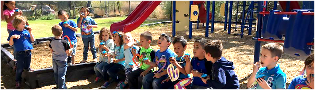 Pre-K Students At Ajo Unified School District During An Activity. Photo Courtesy Ajo Unified School District