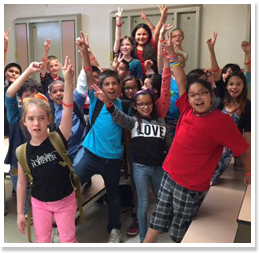 Snapshot of Arizona's small and rural schools Ajo-students-happy