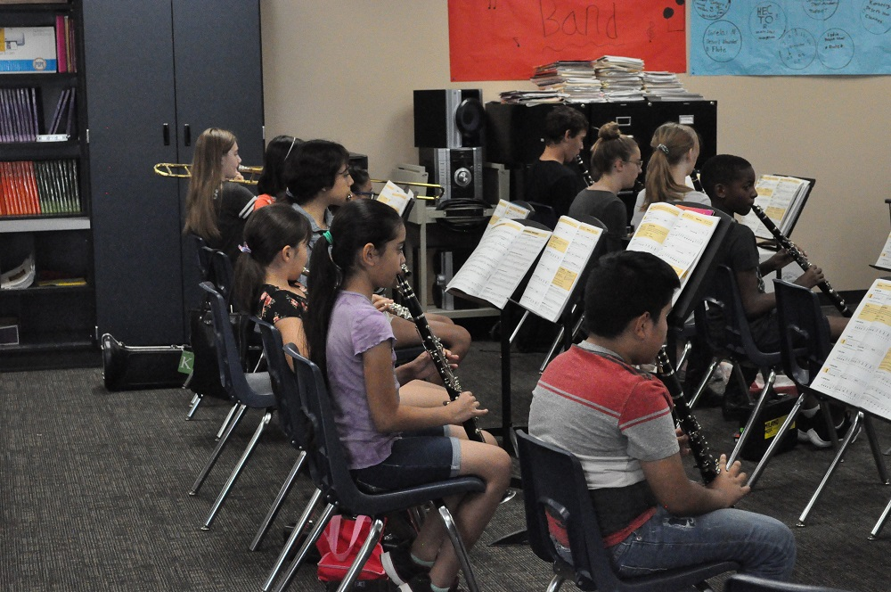 School's not out for teachers leading student activities Avondale-Summer-Band-Academy-4