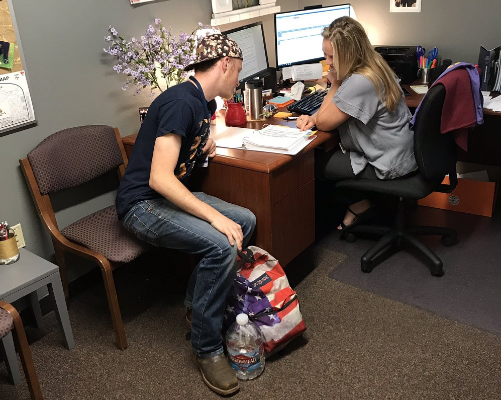To Support Students' Success, Queen Creek Unified School District Has Invested In A Staffing Model That Includes Counselors, College And Career Advisors, Career Center Specialists And Social Workers. Photo Courtesy Queen Creek Unified School District