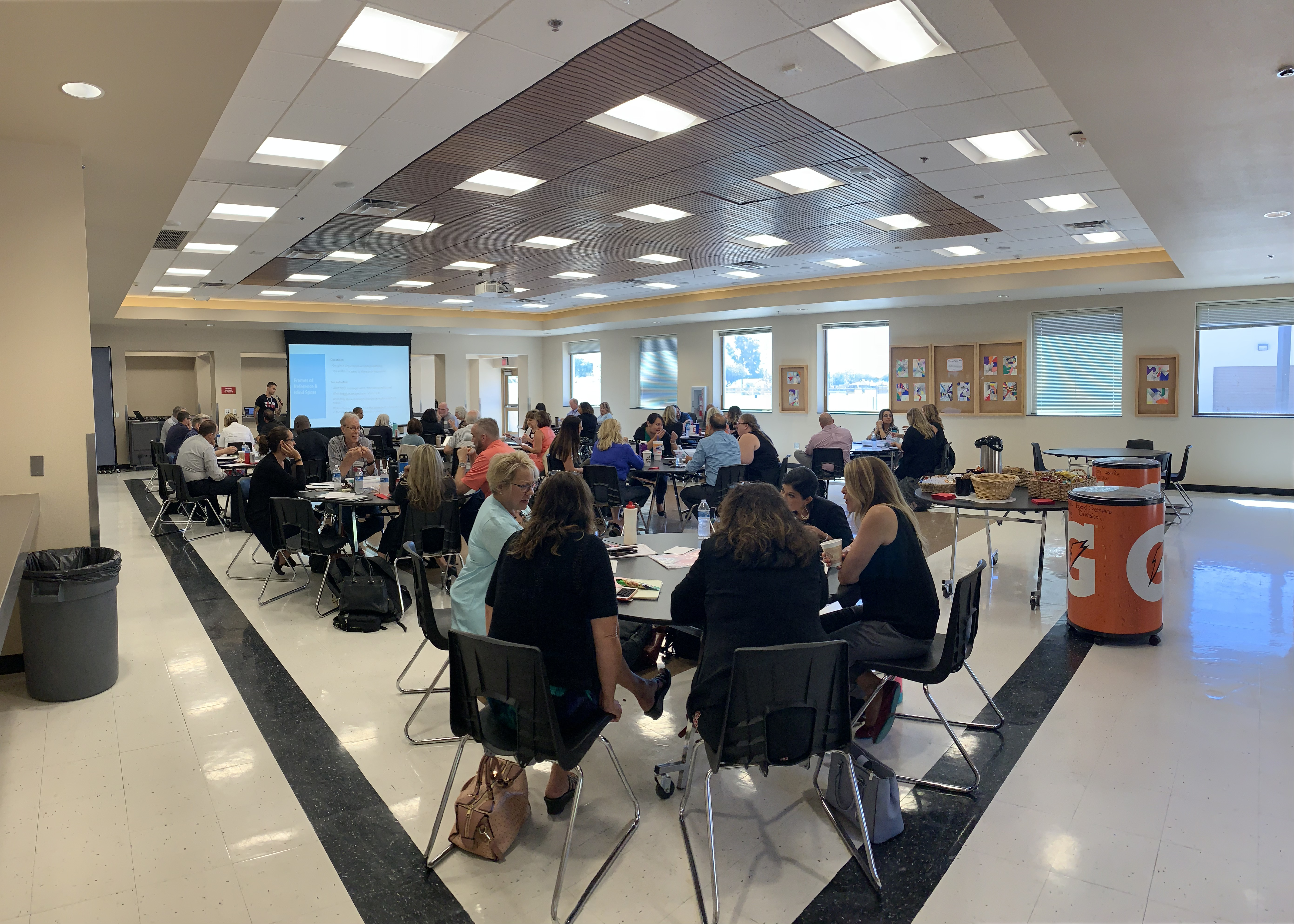 Creighton School District Leaders Are Putting What They Learned To Use After Attending Implicit Bias Training From Phoenix Union High School District. Photo Courtesy Creighton School District