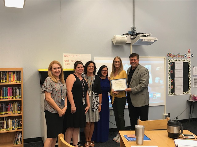 The Higley Achievement Foundation (HAF) Recently Awarded 33 Gail Stapleton Mini-Grants At Six Higley Campuses For $9,100. Photo Courtesy Higley Unified School District