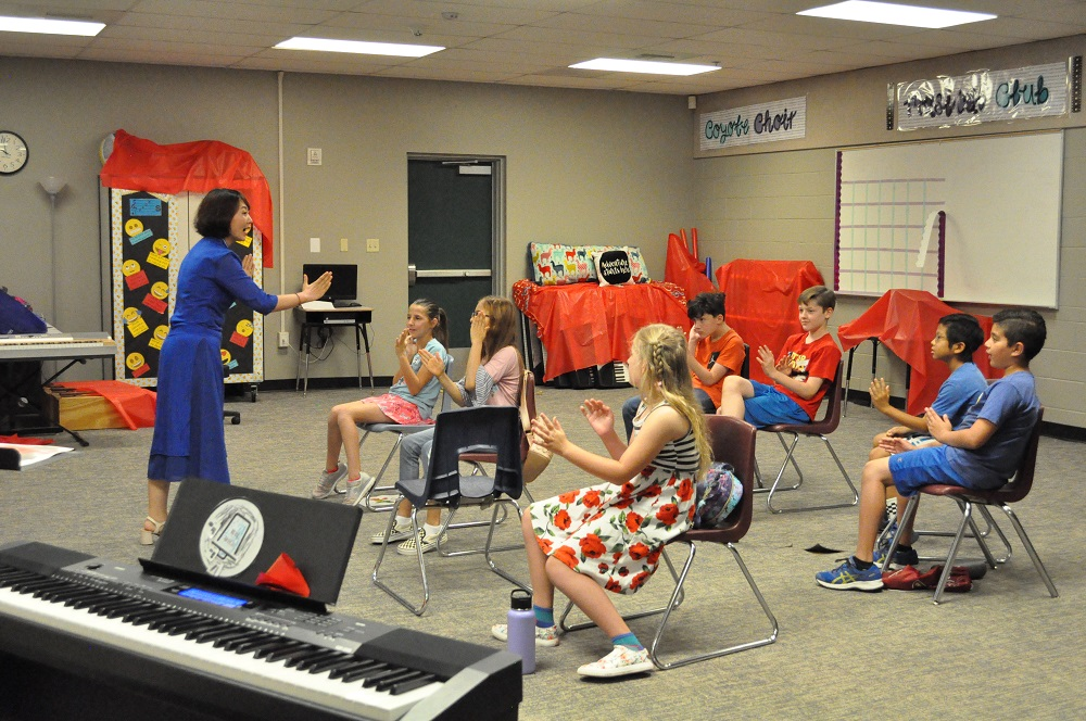 School's not out for teachers leading student activities Music-Class