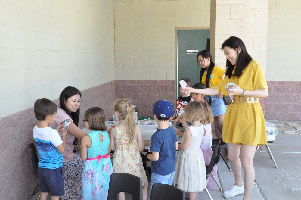 School's not out for teachers leading student activities Water-Filtration