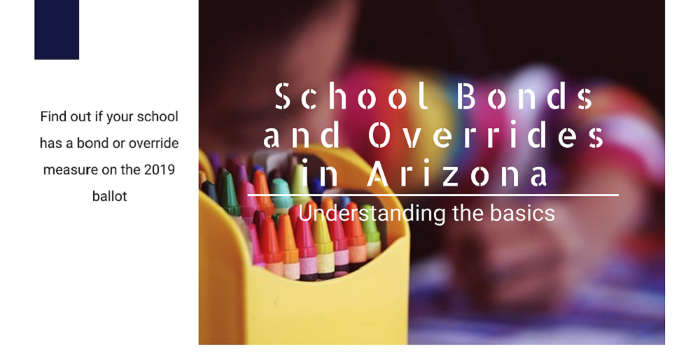 A Portion Of The Of AZEdNews 2019 Bonds And Overrides Overview Infographic By Angelica Miranda/AZEdNews