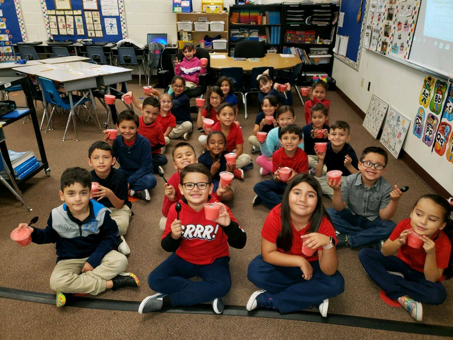 Every Year, During The Month Of November, SCVUSD No 35 Schools Participate In The Rio Rico Rotary Coin Wars. Students Are Tasked With Bringing In Loose Change To Benefit Families In Rio Rico Who Are Less Fortunate During The Holiday Season. Photo Courtesy Santa Cruz Valley Unified School District # 35