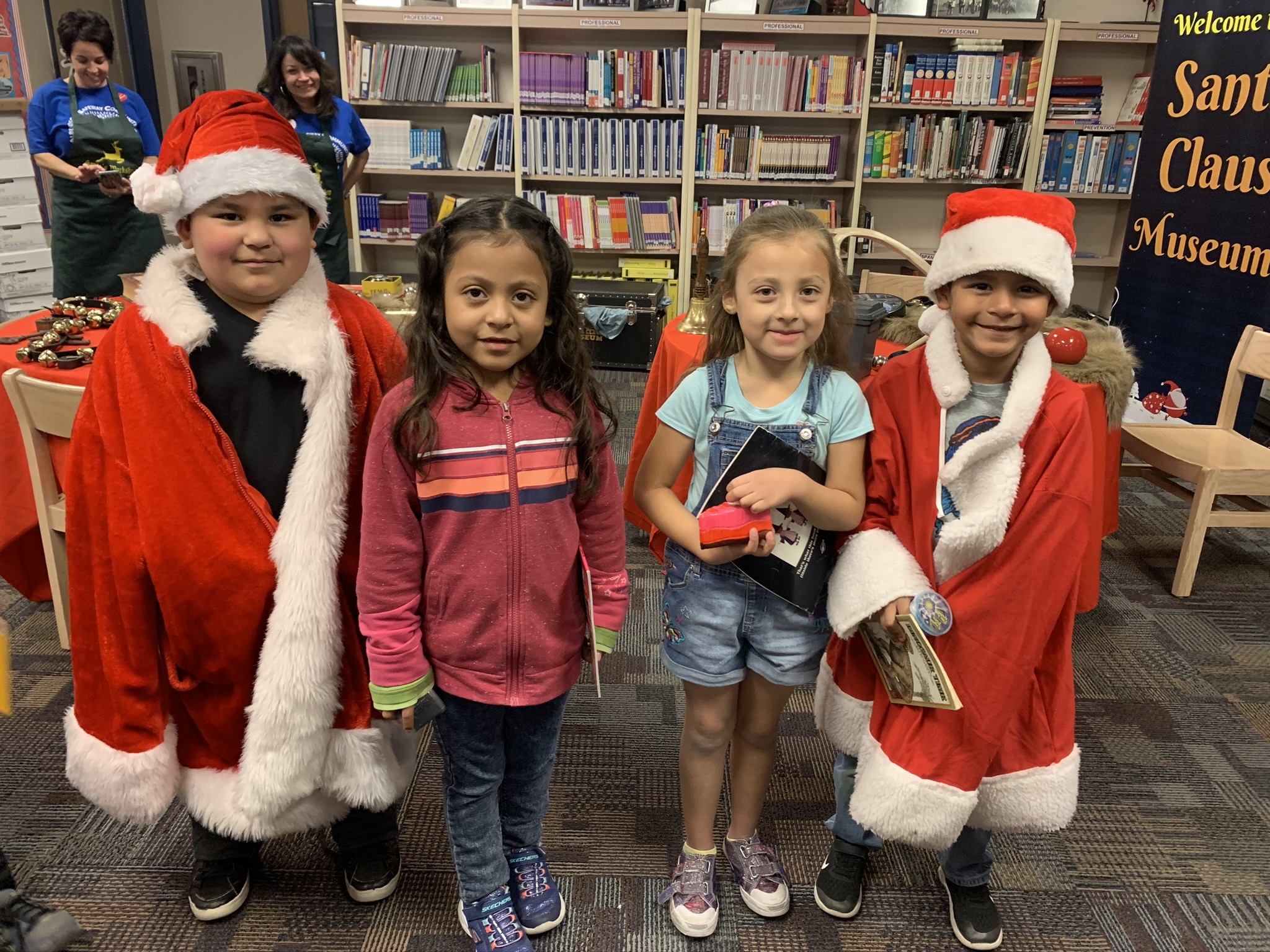 Constitution Elementary Students Celebrate At Their Holiday Party. Photo Courtesy Constitution Elementary School