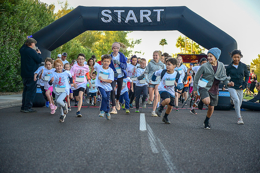 On Saturday, March 7, The Third Annual Madison Dash & Wellness Bash Will Be Held On A Course Through Scenic North Central Phoenix. The Dash Includes Two Components, A Competitive Run As Well As A Mini Dash. Photo Courtesy Madison Elementary School District