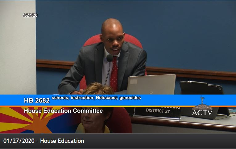 Holocaust education bill unanimously approved by House Education Committee Rep-Reg-Bolding-Holocaust-bill